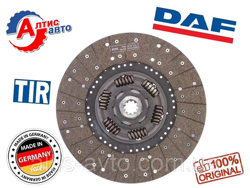 Диск сцепления DAF 45 LF, 55 CF 65, диаметр 395 мм для грузовика Даф 1375593, ATRA243