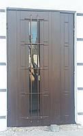 Металлические бронированные двери