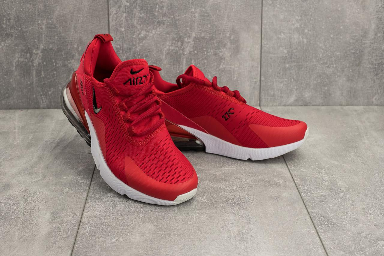 fea9d2dd Кроссовки Nike AirMax 270 (весна/осень, мужские, текстиль, красный) копия