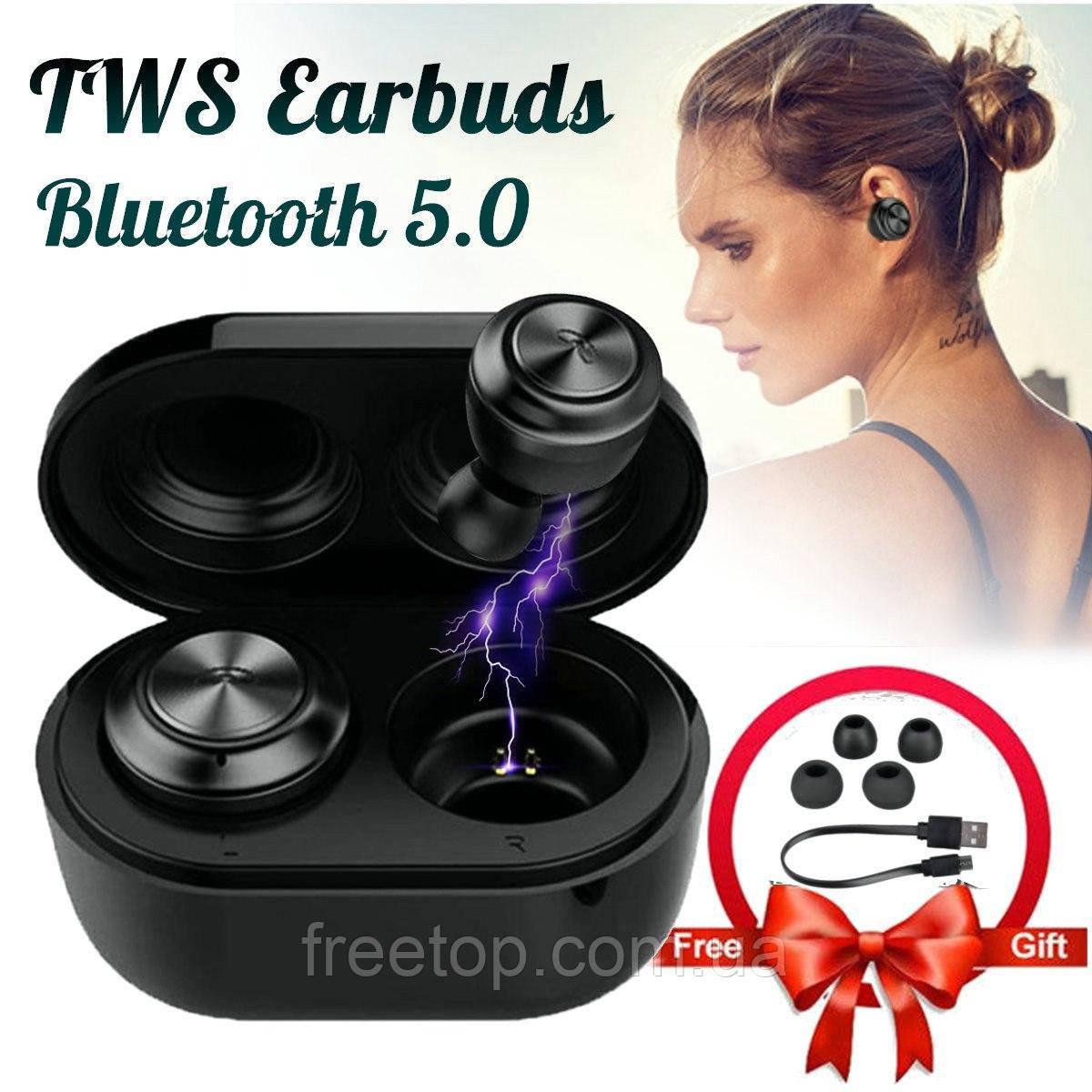 Беспроводные Bluetooth наушники Air twins A6 TWS (Эир Твинс)