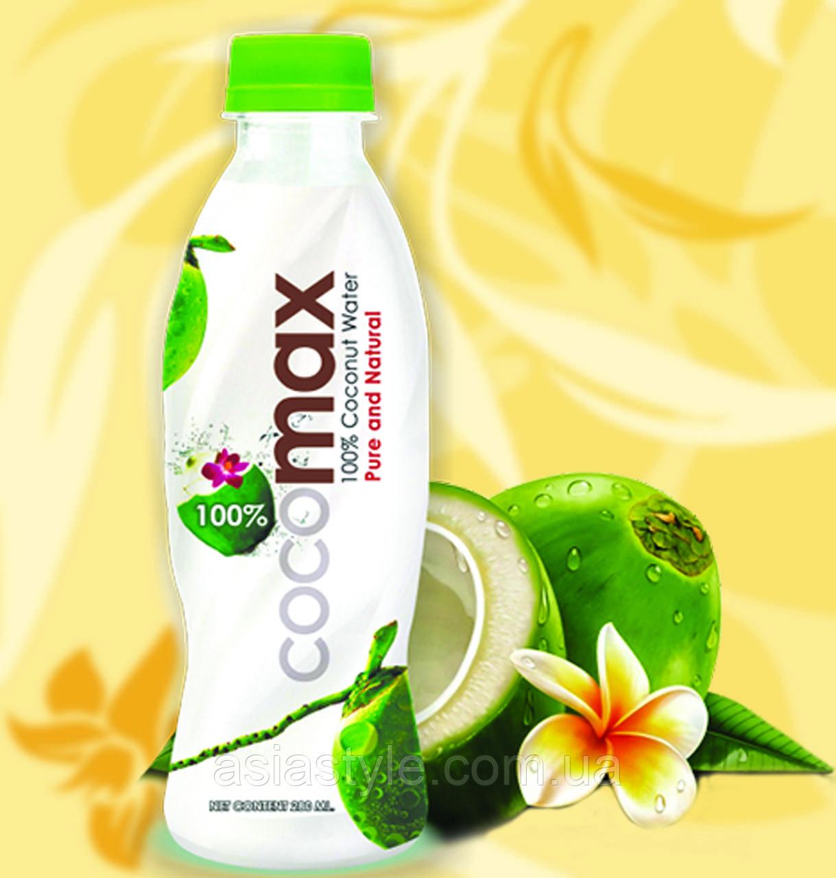 Натуральна кокосова вода, cocomax, 280мл, Дн