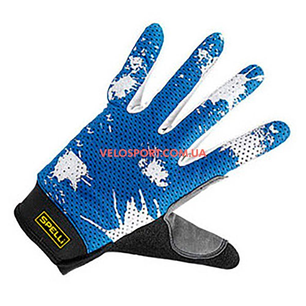 Велоперчатки SPELLI SLG 01 синие XL