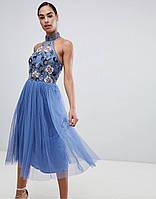 0198aa90146 Платье расшитое бисером в Украине. Сравнить цены