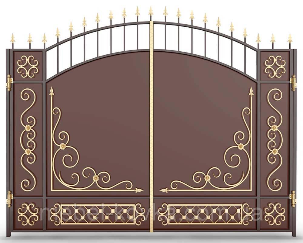Ворота ковані Пухівка