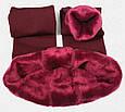 Леггинсы лосины гамаши теплые на меху Fur с носочком, фото 6