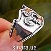Серебряное кольцо Геральдическая Лилия, фото 2