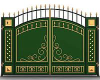 Ворота для дачи  7