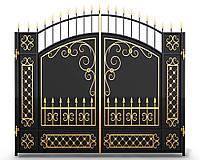 Ворота кованые 10