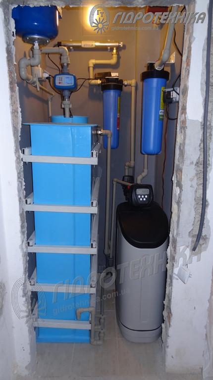 Система комплексной очистки Ecosoft FK 1035 Cab в квартире