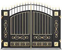 Ворота кованые 11