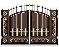 Ворота кованые 12