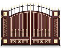 Ворота кованые 13