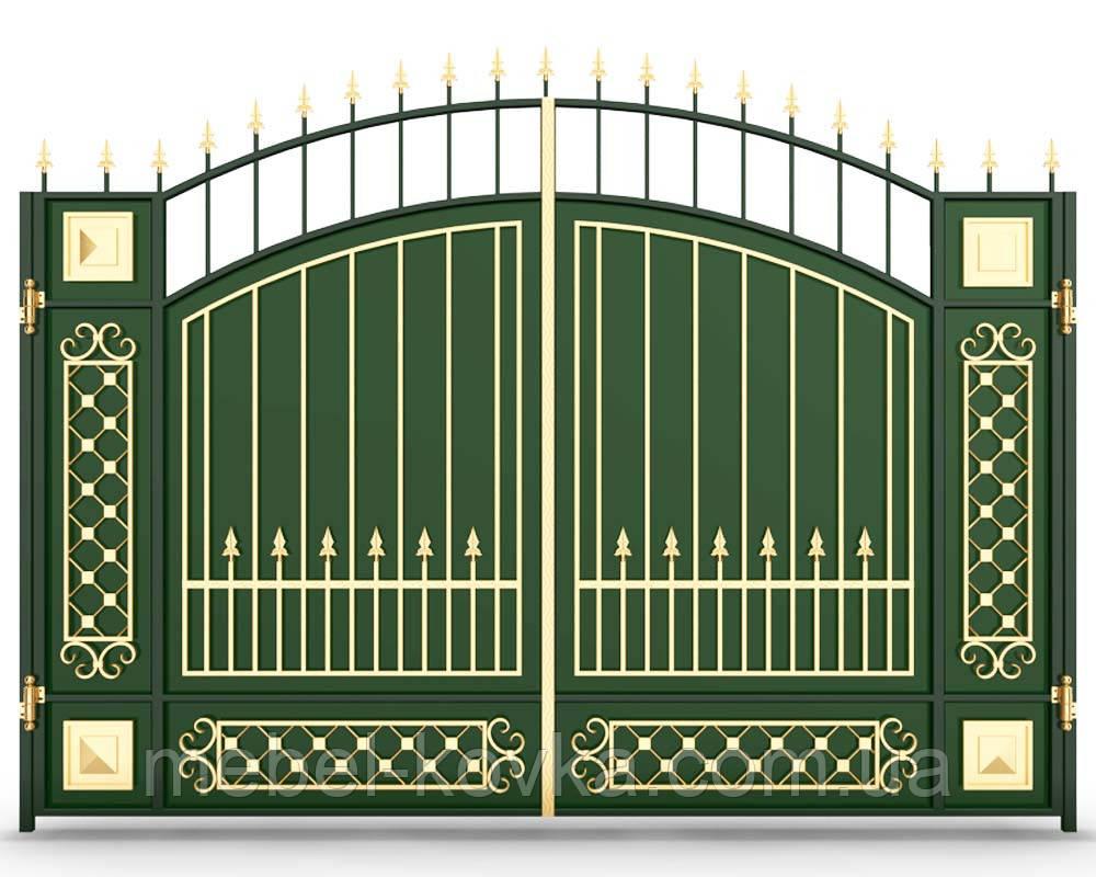 Ворота кованые  Зазимье