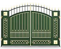 Ворота кованые 14