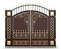 Ворота кованые 16