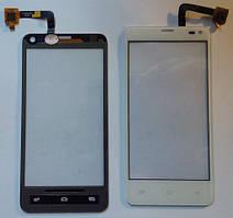 Fly IQ4416 сенсорний екран, тачскрін білий