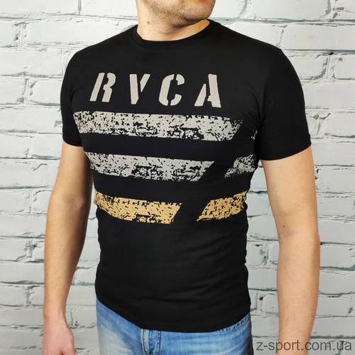 Футболка мужская RVCA черная Турция L