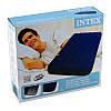 Надувной ортопедический двуспальный матрас-кровать Intex 68757 (99х191х22) см), фото 3