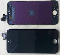 Дисплей iPhone 5 модуль в сборе с тачскрином черный, High Copy