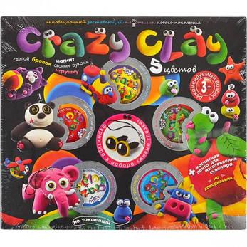 Набор пластилина «Crazy Clay» средний CRC-01–03,04 ДТ-ТЛ-02-50, фото 2