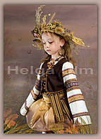 """Детский карнавальный костюм """"Паляниця"""", """"Хлеб"""" на праздник осени или хлеба, напрокат"""