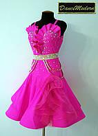 Платье для бальных танцев латина. El.Pink - lyc «Chrisanne» и «DSI» (Великобритания)