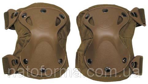 Тактические наколенники Defence (MFH), coyote tan, защита ноги