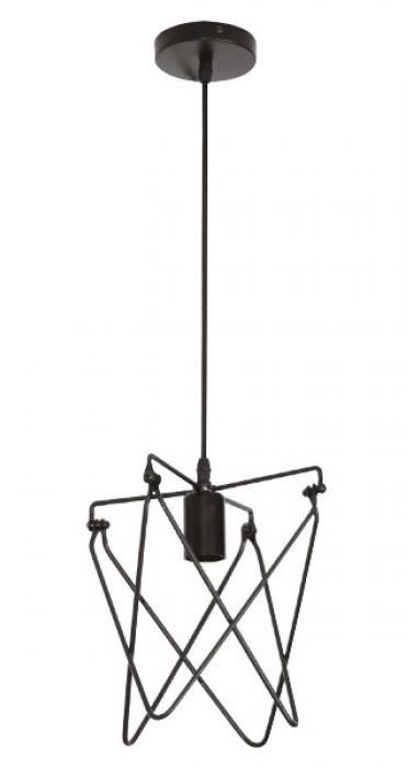 Светильник подвесной LOFT KEPLER black  Е27 Код.59491