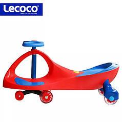 Детская машинка Bibicar , PlasmaCar, Бибикар, Smart Car, Детская инерционная машинка Синий/Красный