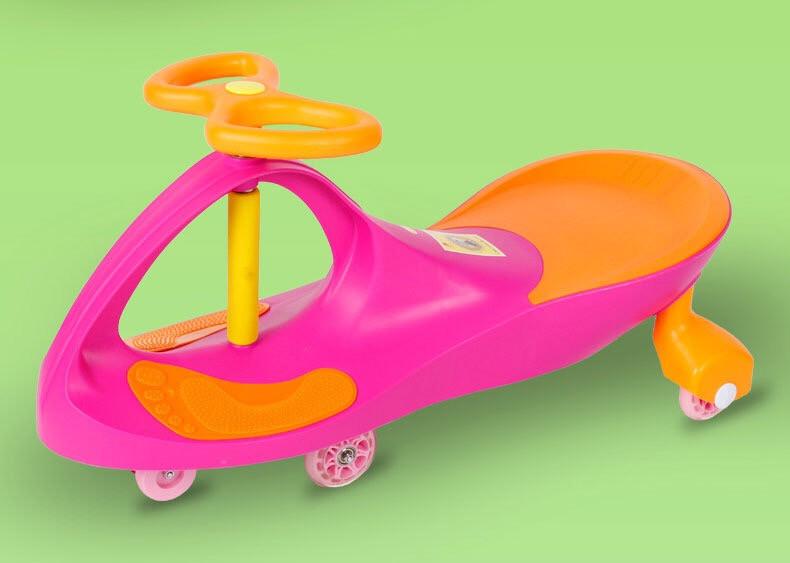 Детская машинка Bibicar Бибикар, PlasmaCar, Smart Car, Детская инерционная машинка - Розовый - фото 4