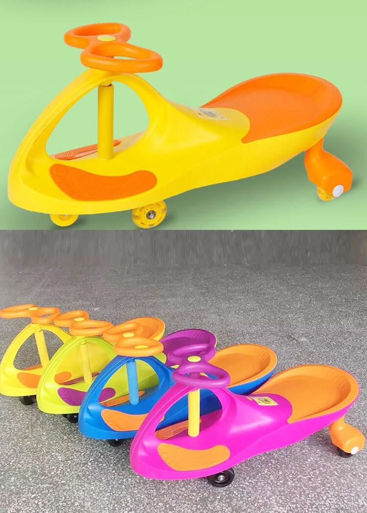 Детская машинка Bibicar Бибикар, PlasmaCar, Smart Car, Детская инерционная машинка - Розовый - фото 6