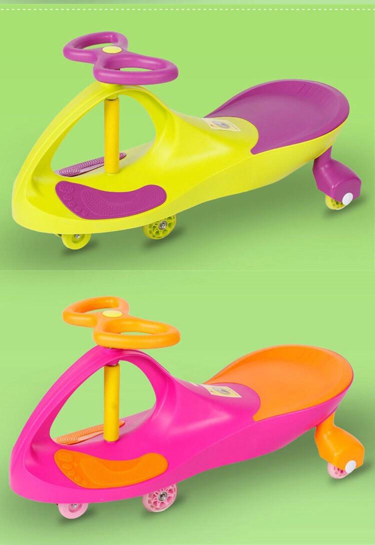 Детская машинка Bibicar Бибикар, PlasmaCar, Smart Car, Детская инерционная машинка - Розовый - фото 3