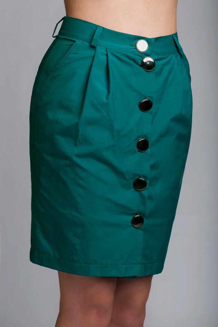 Женская юбка из плащевки