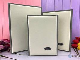 Коробка-органайзер подарочная прямоугольная Книжка белая для дома для упаковки подарка