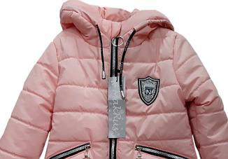 Весенняя курточка для девочки от 110 по 134 размер, фото 2
