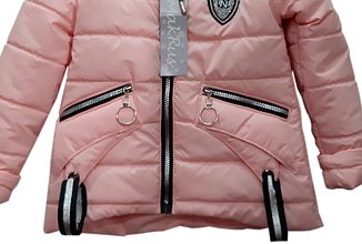 Весенняя курточка для девочки от 110 по 134 размер, фото 3