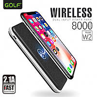 Power Bank Golf W2 wireless 8000mAh
