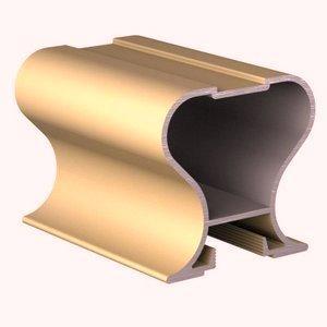 межкомнатные Двери купе золото