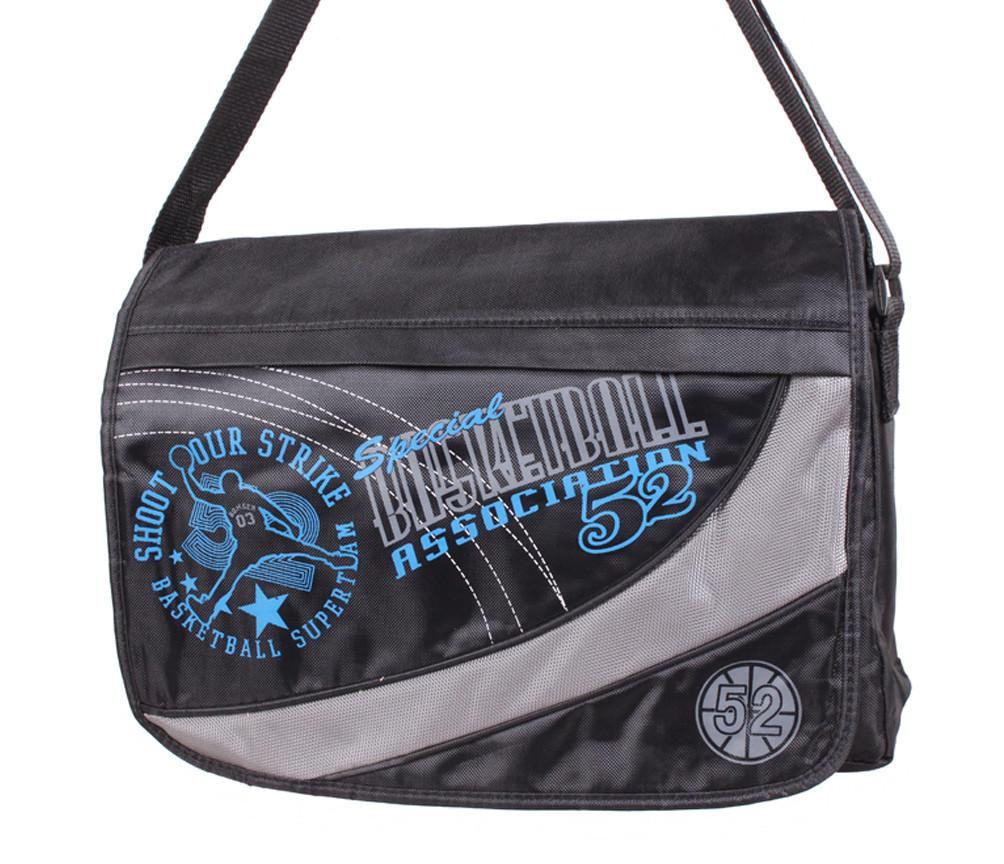 Спортивная текстильная сумка KAPP008-17 черная