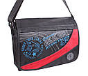 Спортивная текстильная сумка KAPP008-18 черная, фото 2