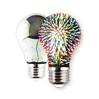 Светодиодная лампа-ночник 3D Star Lights Bulb A60 E27