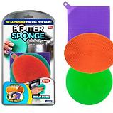 Набор силиконовых щеток Better Sponge, фото 7