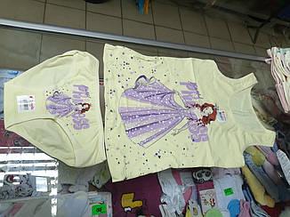 Комплект детский белье  Donella трусы и майка р.6-7