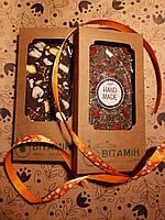 """Шоколад из кероба с бразильским орехом и солеными фисташками """"Эдемский Сад"""", 90г, фото 1"""