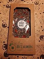 """Шоколад из кероба с чиа и ягодами годжи """"Витамин"""", 90г, фото 1"""