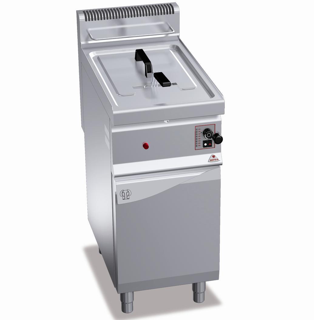 Фритюрница газ. Bertos GL10M