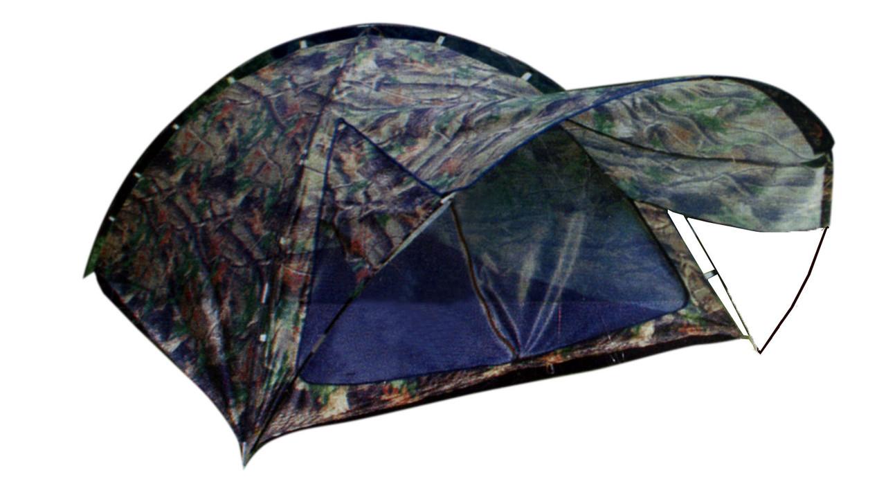 Палатка туристическая Winner с козырьком трёхместная.