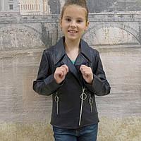 Куртка детская искусственная кожа, фото 1