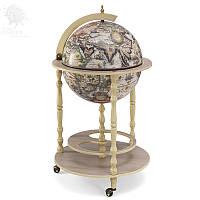 """Акция! Бесплатная доставка напольного глобус-бара Zoffoli """"Tucano"""" d 42 см (Ivory)"""