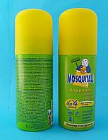 Аэрозоль от комаров 100 мл актив 4 часа Москитол (Mosquitall)